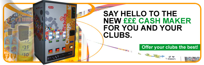 Say hello to the new cash maker for you and your clubs.  				Offer your clubs the best!